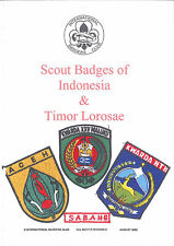 2002 SCOUTS OF INDONESIA & TIMOR LOROSAE Scout Guides Badge Varieties Catalogue