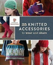 NEW - F&W Media Interweave Press, 25 Knitted Accessories to Wear and Share