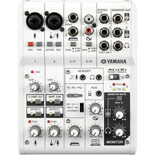 Yamaha AG06 6-Channel Mixer & USB Audio Interface *NEW* Incl Cubase AI Software