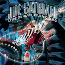JOE SATRIANI Live in San Francisco (CD 2001) 2-DISC NEW SEALED Guitar Music