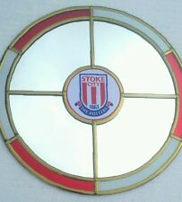 Stoke City Football Club Mirror.  30cm circle