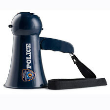 Pretend Play Kids Police Officer's Megaphone (Bullhorn) with Siren and Mic