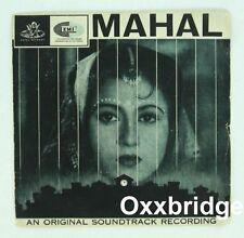 LATA MANGESHKAR Mahal RARE 1966 HINDI OST Bollywood Rajkumari w/SLEEVE India