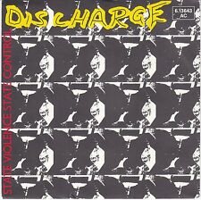 7 45 Discharge - State Violence State Control RARE German NM Condition Punk PROM