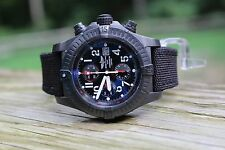 Breitling Super Avenger Limited Special Edition Blacksteel M13370 Black