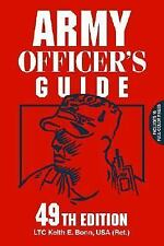 Army Officer's Guide by Keith E. Bonn (2002, Paperback, New Edition)