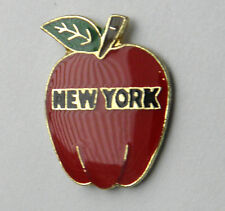 NEW YORK CITY BIG APPLE UNITED STATES AMERICA LAPEL PIN BADGE 3/4 INCH