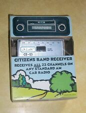 VTG TEST CB CITIZEN BAND RADIO RECEIVER AM ADAPTER NORTHRIDGE CALIFORNIA MOS-FET