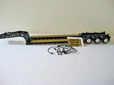 Black Fontaine Lowboy Trailer Diecast Promotions 1/64th Scale  DCP