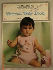 Beautiful Baby Book - Book 766 - Columbia Minerva - 31 Knit or Crochet Patterns