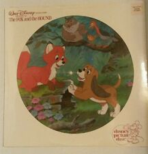 The Fox and the Hound - Picture Disc Vinyl Record - Disney