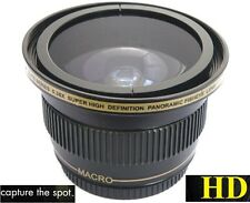 Fisheye Ultra Super Hi Def Panoramic Lens For Panasonic HC-X920 HC-V720
