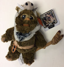 "New Disney Parks Star Wars 40th Celebration 2017 PAPLOO the Ewok 9"" Plush"