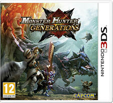 Monster Hunter Generations Nintendo 3DS IT IMPORT NINTENDO