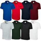 New Mens Olympic Plain Polo Shirt Short Sleeve - Casual Sport Leisure S TO 5XL