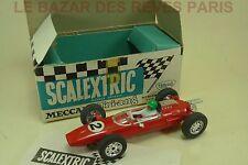 SCALEXTRIC. COOPER C 81.  + Boite.   slot car  ancien vintage
