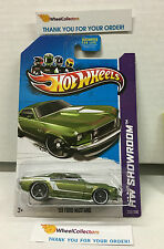 '69 Ford Mustang #232 * GREEN * 2013 Hot Wheels * H106