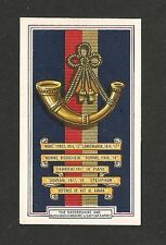 OXFORDSHIRE & BUCKINGHAMSHIRE LIGHT INFANTRY  Light Bobs  Battle Honours & Badge