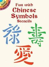Dover Stencils: Fun with Chinese Symbols Stencils by Marty Noble (2001,...