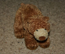 "DOUGLAS CUDDLE TOYS 8"" Brown Bear Beanbag Plush Toy    G8"