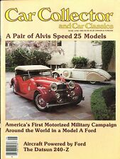 1983 CAR COLLECTOR AND CAR CLASSICS MAGAZIN 6 ALVIS SPEED DATSUN 240 Z FORD