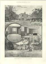 1894 Sir Edwin Landseer's House St John's Wood To Be Demolished Maori King