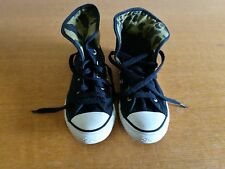 Converse All Star Children's Black Boots UK 1. Good condition
