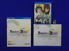 PS VITA STEINS GATE Limited Edition + Art Book psvita PAL ENGLISH Version
