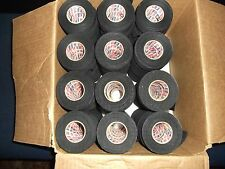 """BLACK ATHLETIC TAPE  162 roll  1""""x25yds.   SPECIAL    * COSMETIC SECONDS *"""