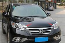 For Honda CRV CR-V 2012-2014 Chrome Front Headlights Head Light Lamp Cover Trim