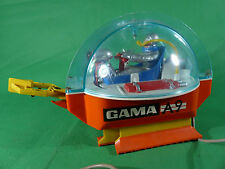 vintage Gama 3580   A9 Moon Walker Space Toy - 1970's