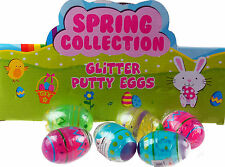 Set Of 6 Colour Slime Novelty Easter Egg Gifts - Ideal Party bag Gifts