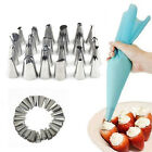 24 Pcs Icing Piping Nozzles Pastry Tips Cake Sugarcraft Decor Baking Tools