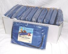 12 Blue 6 Can Tube Cooler Soft Sleeve Carriers Insulated Backpack Six Beer Pop