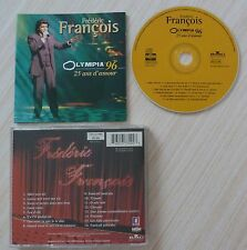 RARE CD OLYMPIA 96 25 ANS D'AMOUR FRANCOIS FREDERIC 16 TITRES