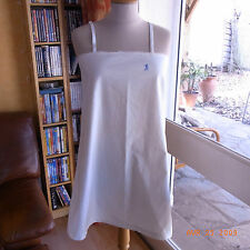 ANCIENNE CHEMISE COTON BRODEE MAIN - MONOGRAMME M / OLD COTTO SHIRT EMBROIDERED