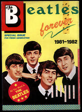 "JAPAN:The Beatles ""Forever 1981-82"" Rare Promo Magazine From Japan - Toshiba EMI"