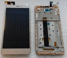 Display Full LCD Komplett Einheit Touch mit Rahmen Flex Xiaomi Redmi Note 3