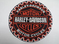 TOPPA PATCH HARLEY DAVIDSON RUOTA DENTATA  X BIKERS THERMOADERENTE