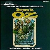 Return to Oz - David Shire deleted Bay Cities soundtrack CD