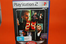 24 THE GAME PLAYSTATION 2 PS2 (NO BOOKLET) - FREE POST