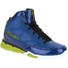 And1 Mens Blitz Basketball Shoe BLUE  SIZE 11