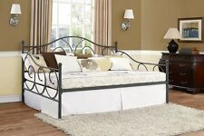 DHP Victoria Full Size Metal Daybed, Pewter- 4022939 Bed NEW