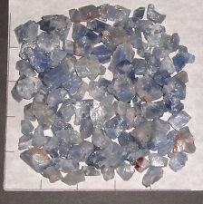"""CALCITE CHUNKS, Light Blue, 1/2-3/4"""" rough 1/2 lb bulk stones Mexico"""