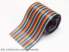 Ribbon Cable AWG28 #28 40 Leads Way 0.5M 0.5 meter