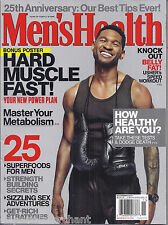 Mens Health magazine Usher Hard muscle fast 25 superfoods Get rich tips