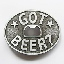 NEW SILVER STARS  BOTTLE OPENER GOT BEER BELT BUCKLE