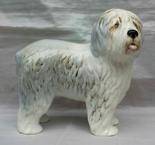 Vintage Sylvac Porcelain Figure of an Old English Bobtailed Sheepdog Dulux Dog