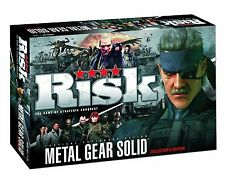 Metal Gear Solid Risk ; The Metal Gear Solid Risk Collector's Edition Board Game