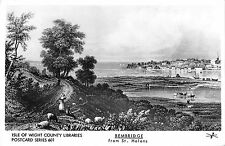 BR74406 isle of wight county libraries bembridge from st helens    uk